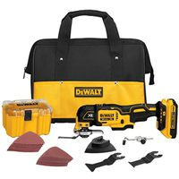 DeWalt DCS355D1 Cordless Oscillating Multi-Tool Kit