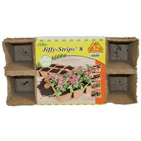 Jiffy JS32 Square Peat Pot Strip