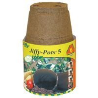 POT PEAT SPHAGNUM RND 5IN 6PK