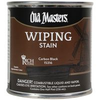 STAIN WIPING CARBON BLK 1/2PT