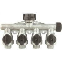 Gilmour AY4FFM 4-Way Full Flow Manifold Shut-Off Valve