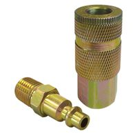 KIT COUPLER COMPR 1/4IN 2PC