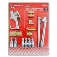 KIT ACC COMPRESSOR 1/4IN 17PC