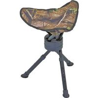 STOOL TRIPOD SWIVEL CAMO 200LB