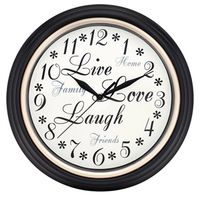 Westclox 32032 Inspirational Wall Clock