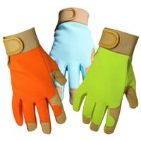 GLOVES LADIES SYN LEATHER PALM