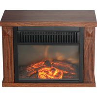 HEATER ELEC MINI HEARTH WD GRN
