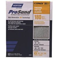 SANDPAPER 180GRIT 9X11IN