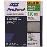SANDPAPER 120GRIT 9X11IN