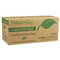 BAG COMPOSTABLE 3 GALLON