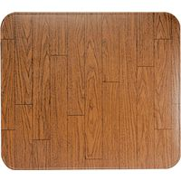HY-C T2UL3242WW-1 Lined Type 2 Stove Board with Rounded Corners