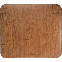 HY-C T2UL3652WW-1 Lined Type 2 Stove Board with Rounded Corners