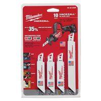 Hackzall M12 49-22-0220 Bi-Metal Reciprocating Saw Blade Set