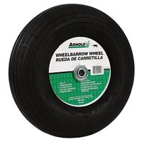 Arnold WB-436 2-Ply Pneumatic Ribbed Tread Replacement Wheelbarrow Tire
