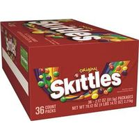 Skittles Wrigley SKIT36 Bite Size Candy