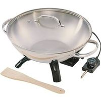 WOK ELECTRIC STAINLESS STEEL