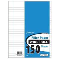 FILLER PAPER WIDE RULE 150CT