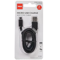 CBL USB MICRO 4FT BLK