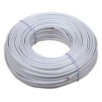 WIRE LN CRD INSUL 100FT WHT