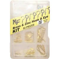 Midwest 14991 Assorted Hook and Eye Kit
