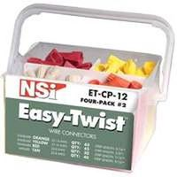 Easy-Twist ET-CP-12 Combination Wire Connector Pail