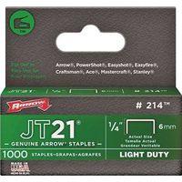 JT21 214 Flat Crown Staple