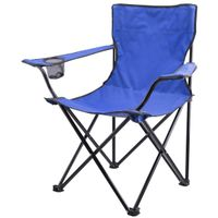BLUE CAMPING CHAIR WITH BAG