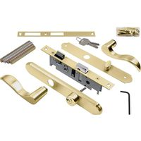 Hampton Serenade VMT115PB Mortise Single Cylinder Door Lever Lockset