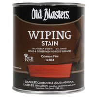 Old Masters 14904 Oil Based Wiping Stain