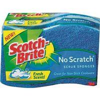 SPONGE SCRUB NO SCRATCH 3PK