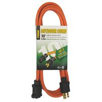 CORD EXTENSION ORG 16/3GA 10FT