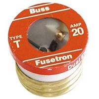 Bussmann T-20 Low Voltage Time Delay Plug Fuse