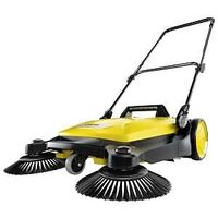 SWEEPER PUSH YEL-BLK 25-1/2IN