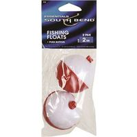 FLOAT FISHING RED/WHITE 2 INCH