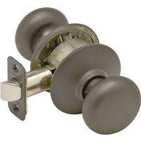 Schlage Plymouth F10 Round Full Ball Door Knob Lockset