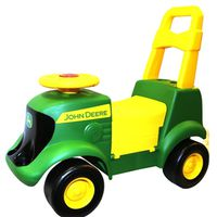 John Deere Sit N Scoot Activity Tractor With Sound and Figures