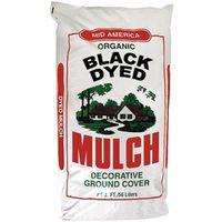 MULCH DYED BLACK 2 CUBIC FEET