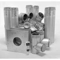 Selkirk 4PL-3BK Basement Pellet Pipe Kit