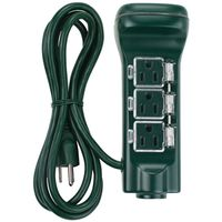 TIMER TOUCH 6 OUTLET STAKE GRN
