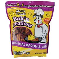 PET TREAT BACON/CHEESE 25OZ