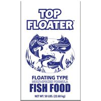 FISH FOOD TOP FLOATER 50LB