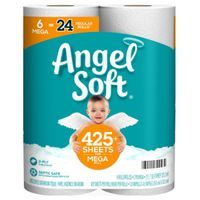 ANGEL SOFT TOILET PAPER 6PK