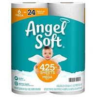 ANGEL SOFT TOILET PAPER 6PK