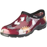 SHOE WOMEN WATERPROOF RED SZ10