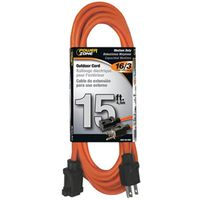 Powerzone OR501615 SJTW Round Extension Cord
