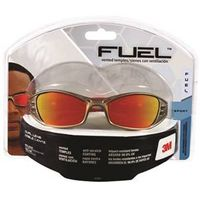 SAFETY EYEWEAR RED MIRROR LENS