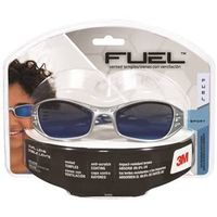 SAFETY EYEWEAR BLU MIRROR LENS