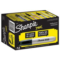 Sharpie Pro 34801 Non-Washable Oval Permanent Marker