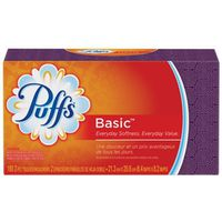 PUFFS BASIC TISSUE 180CT