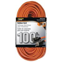 Powerzone OR501635 Tungsten Quartz Double Ended Extension Cord